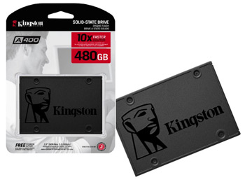 Disco SSD 480 GB marca Kingston