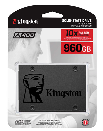 Disco SSD 960 GB marca Kingston