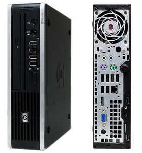 PC HP SLIM 4GB Disco SSD120